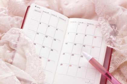 メニューカレンダー